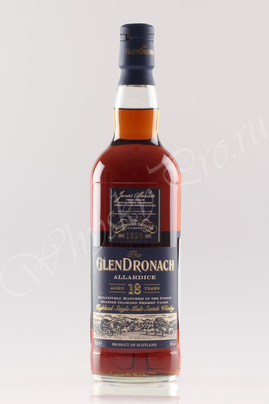 GlenDronach 18 years