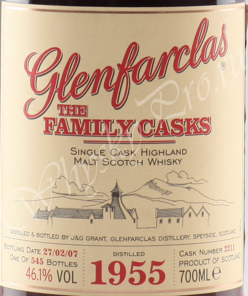 Glenfarclas 1955 year