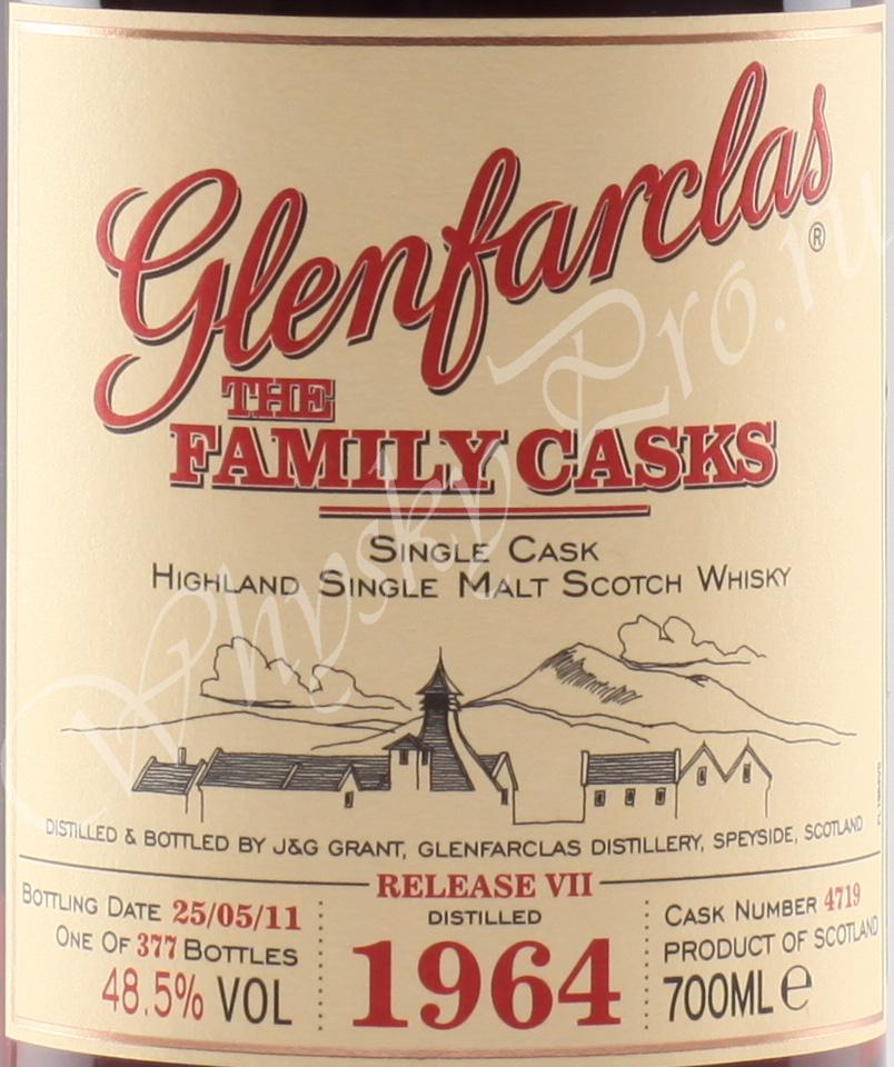 Glenfarclas 1964 year