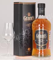 Виски Шотландский виски Грантс 12 лет виски Grants 12 years 0.75
