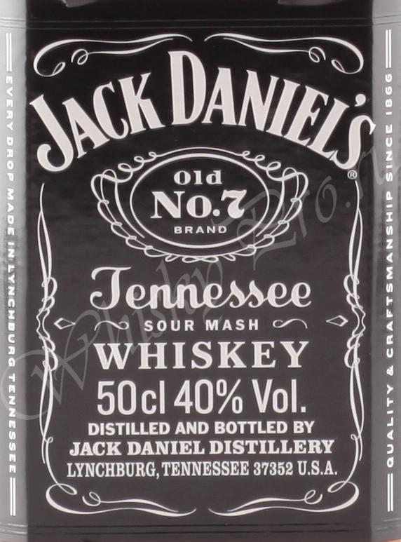 Jack Daniels 0.5 л.