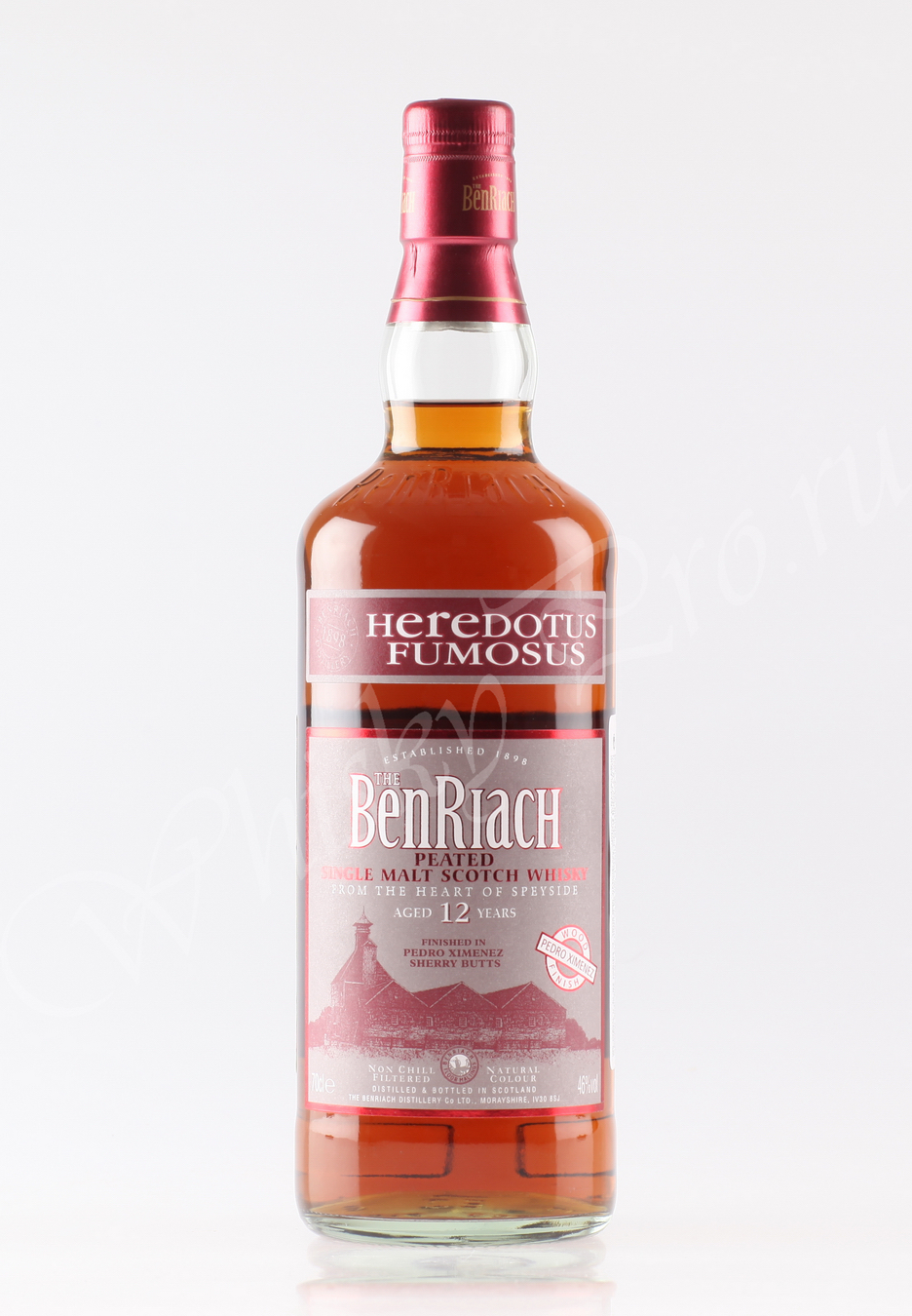 Benriach 12 years Heredotus Fumosus