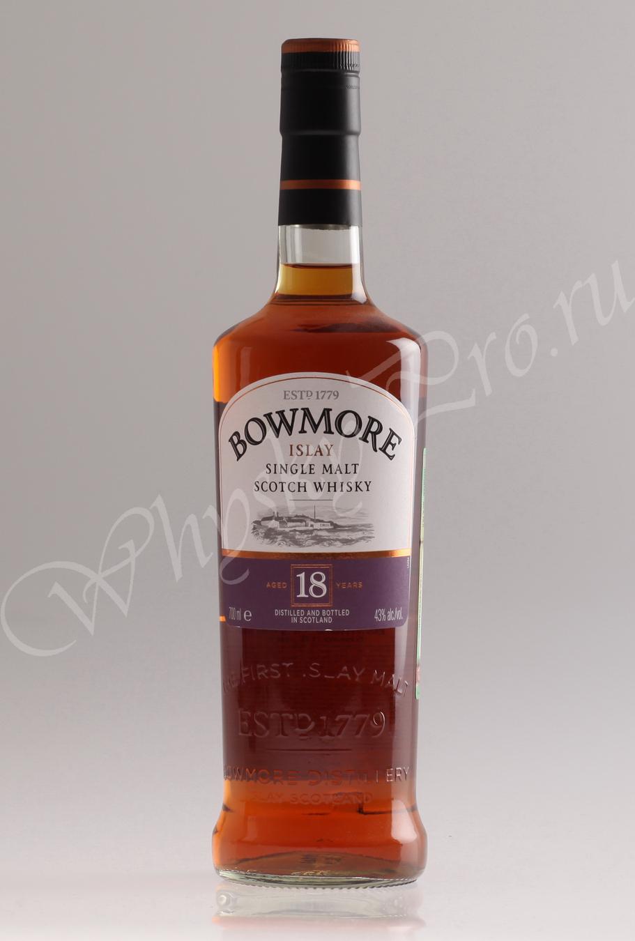 виски Боумор 18 лет Шотландский виски Bowmore 18 years