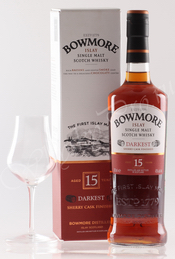 виски Боумор Даркест Виски Bowmore Darkest 15 лет