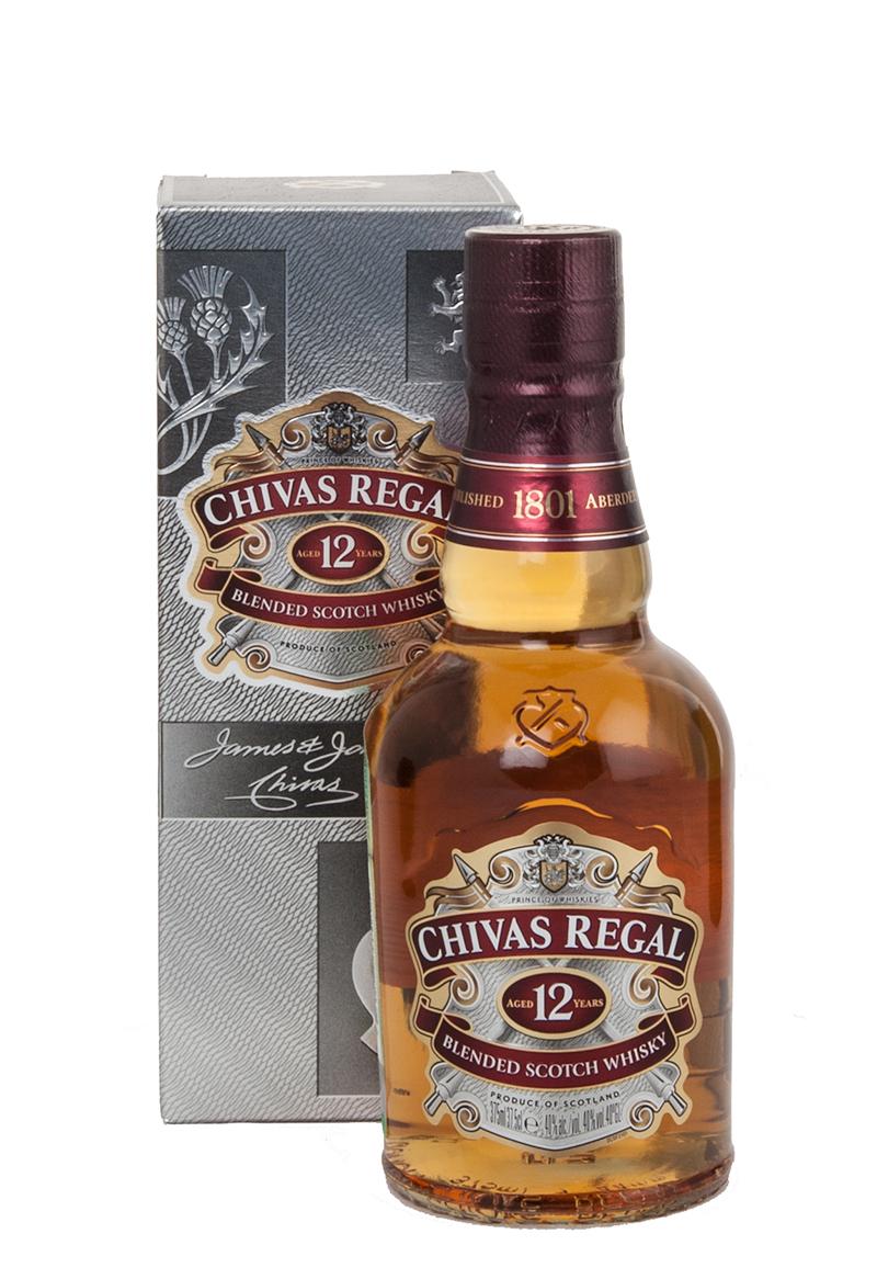 Chivas Regal 12 years 350 ml виски Чивас Ригал 12 лет 0.35 л