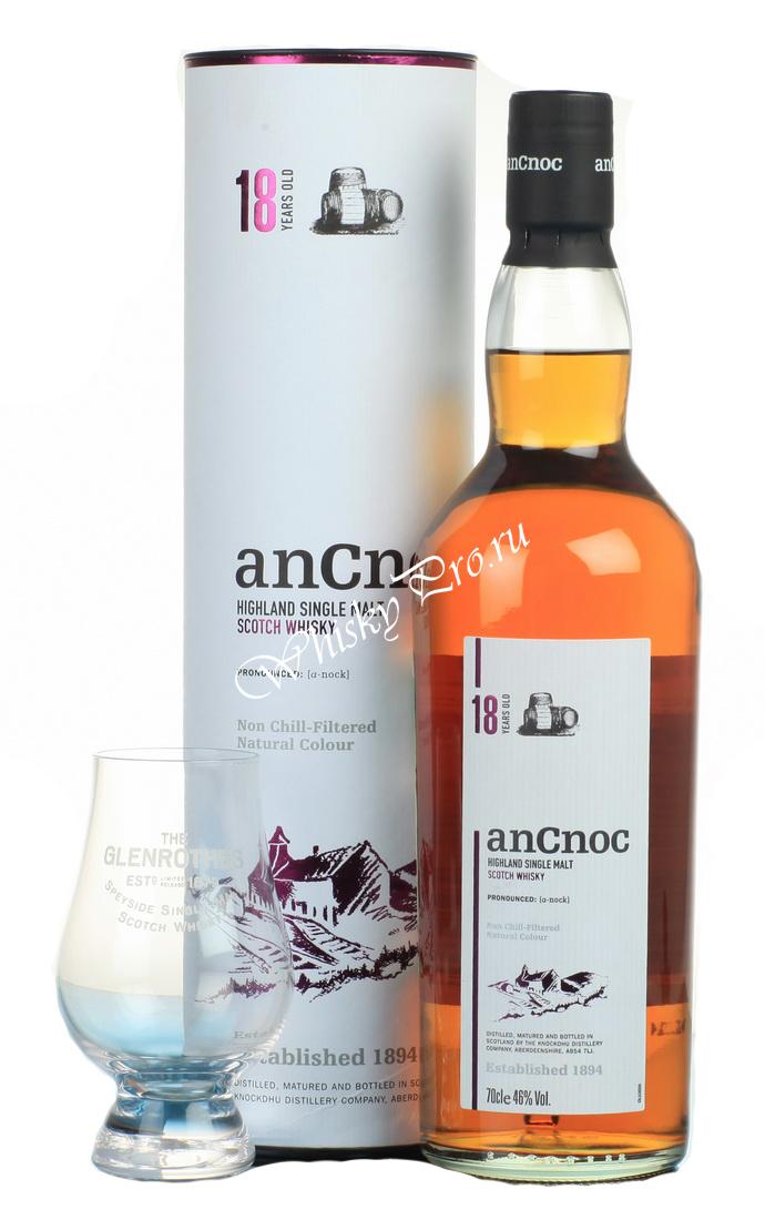 AnCnoc 18 years Виски АнНок 18 лет