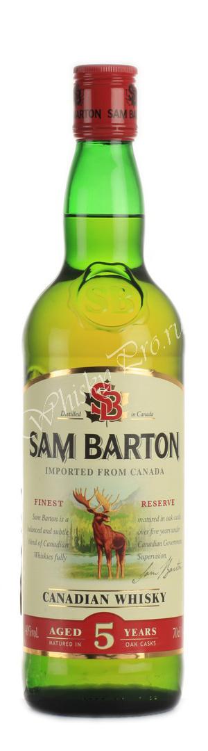 Sam Barton 5 years виски Сэм Бартон 5 лет
