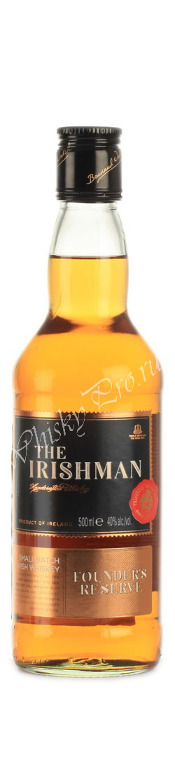 The Irishman Founders Reserve 7 years 0.5l виски Айришмен Фаундерс Резерв 7 лет 0.5л