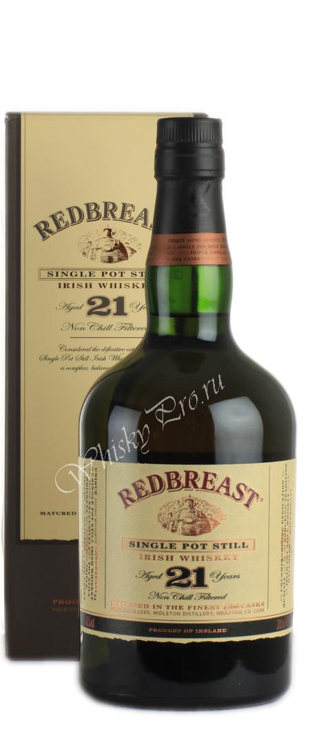 Redbreast 21 years виски Редбрест 21 лет