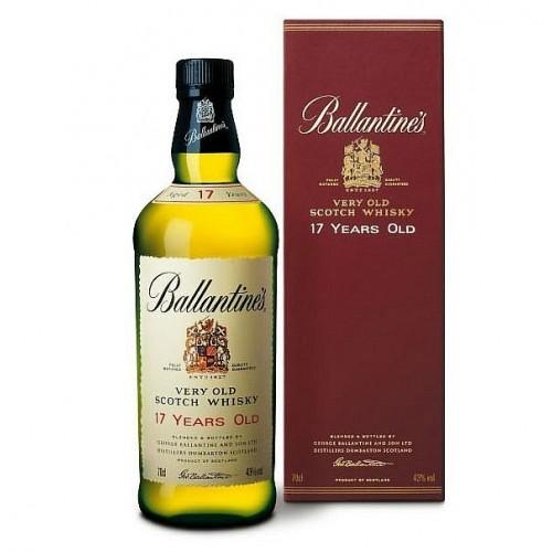 Виски Балантайнс 17 лет Шотландский виски Ballantines 17 years