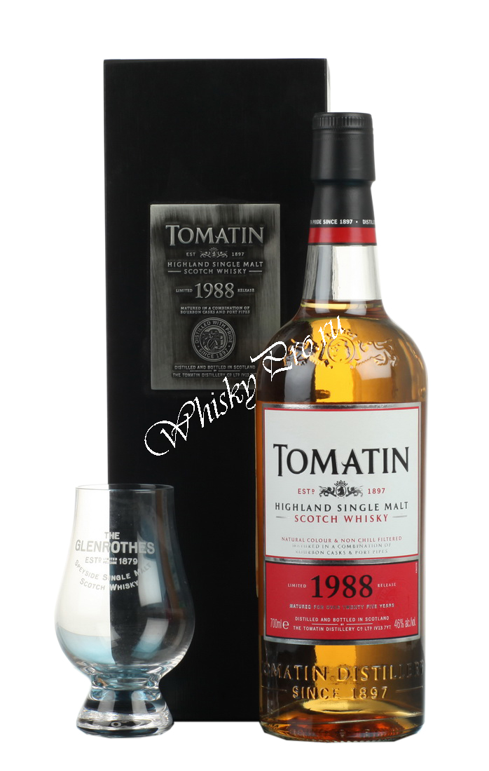 Tomatin Single Malt Pearl of Scotland 1998 16 years 0,7l Виски Сингл Молт Томатин Перлс оф Скотланд 1998г. 16 лет 0,7л в п/у