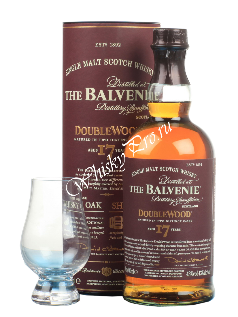 Balvenie Doublewood 17 Years Old 0,7l Виски Балвэни Даблвуд 17 лет 0,7л в тубе
