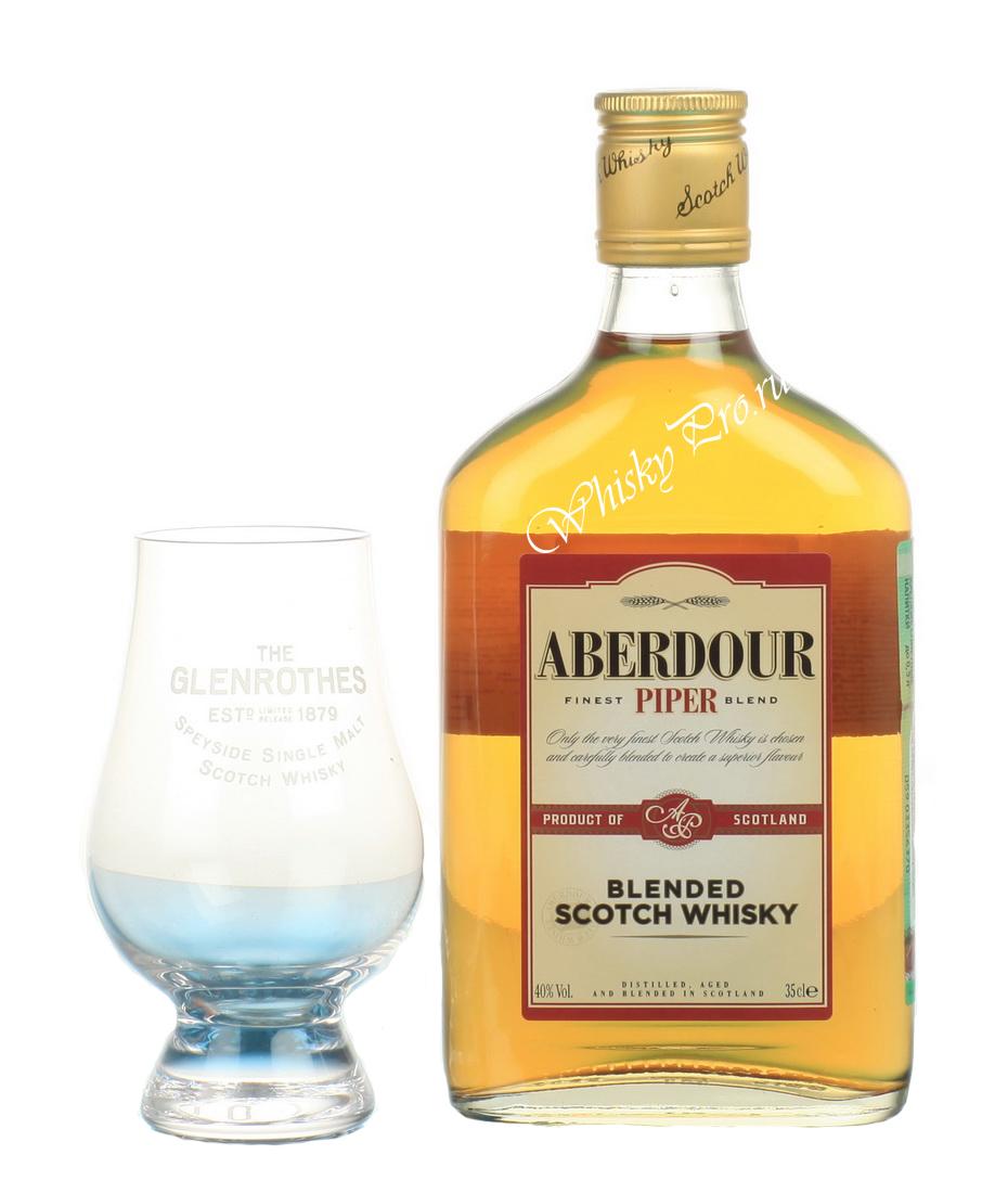 Aberdour Piper виски Абердор Пайпер 0.35 л