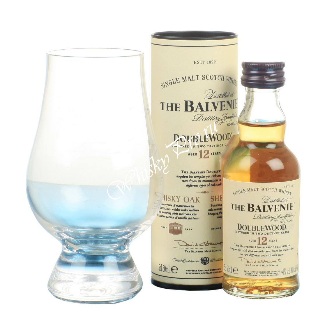 Balvenie Doublewood 12 YO 0.05l виски Балвэни 12 лет Дабл Вуд 0.05л в тубе
