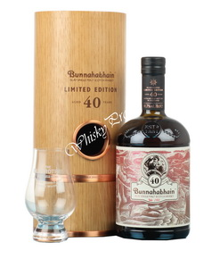 Bunnahabhain Aged 40 years Limited Edition 0.7l виски Буннахавэн Эйджид 40 Еарс Лимитед Эдишн 0.7л