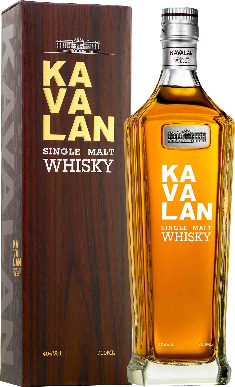 Kavalan single malt 0.7 l виски Кавалан односолодовый 0.7 л