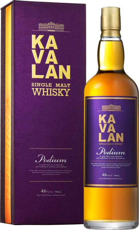 Kavalan Podium 0.7l виски Кавалан Подиум 0.7л в п/у