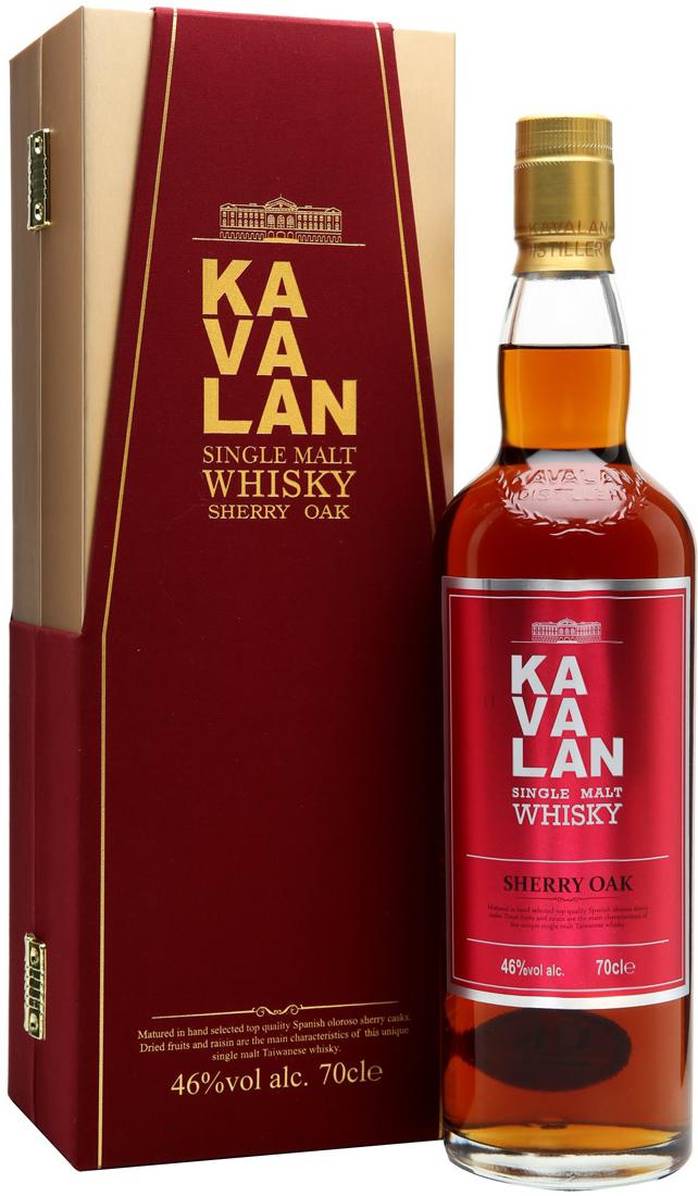 Kavalan Sherry Oak 0.7l виски Кавалан Шери Оук 0.7л