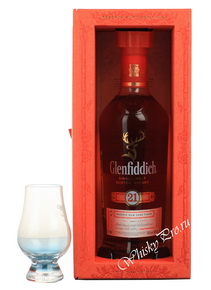 Glenfiddich 21 years old виски Гленфиддик 21 лет