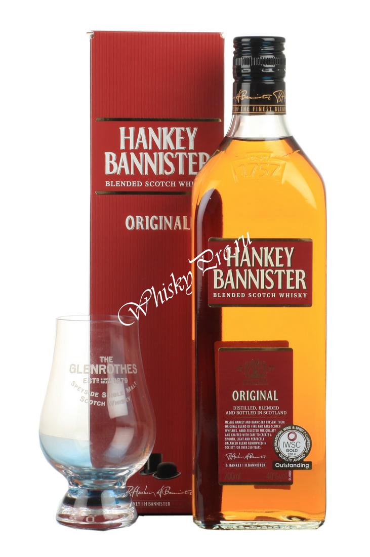 Hankey Bannister 3 years Виски Хэнки Бэннистер 3 года в п/у
