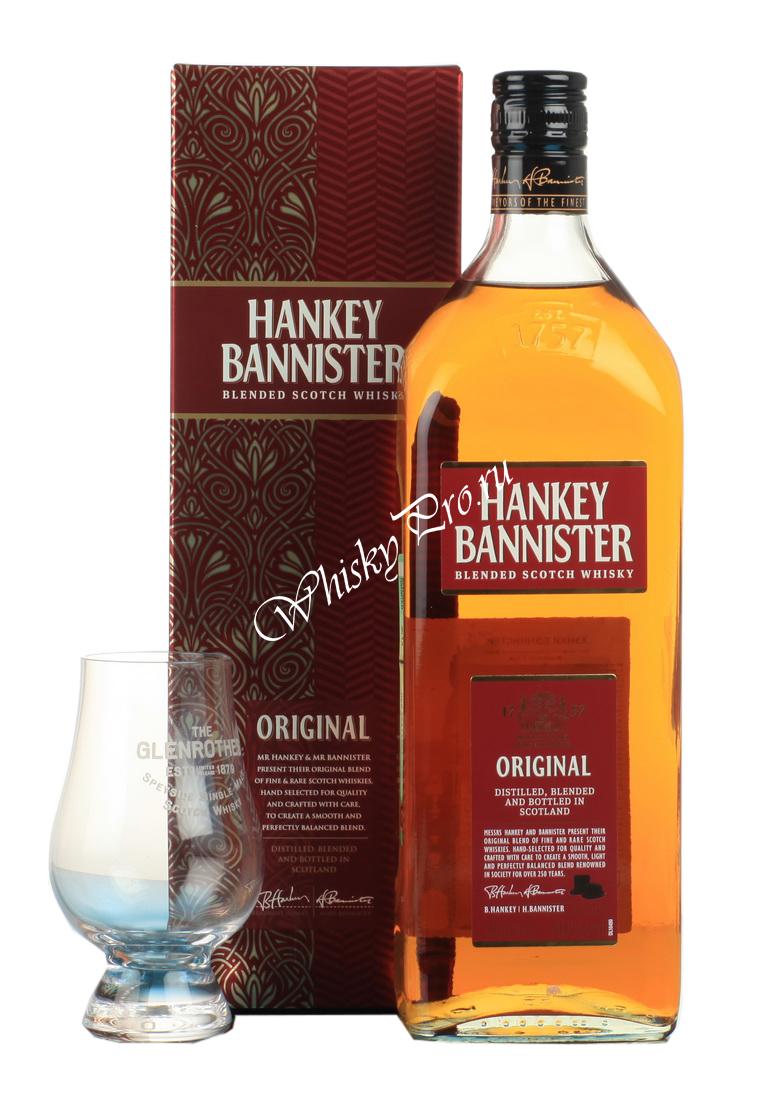 Hankey Bannister 3 years Виски Хэнки Бэннистер 3 года