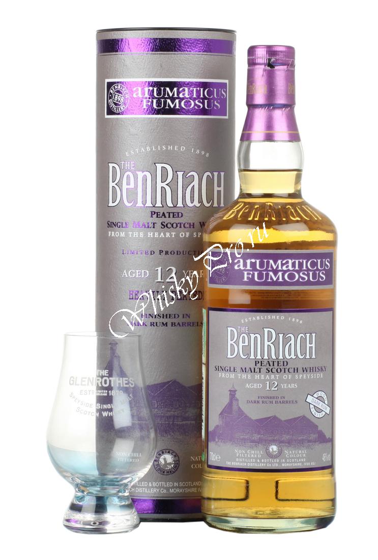 Benriach Dark Rum 12 years виски Бенриах Дарк Рум 12 лет