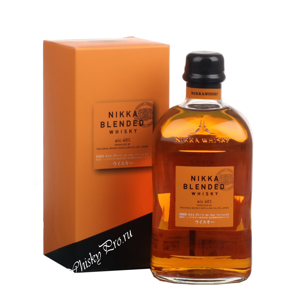 Японский виски Nikka Blended виски Никка Блендид