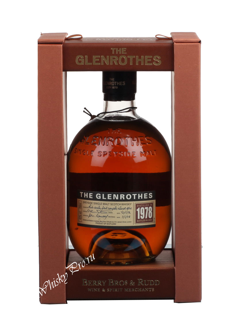 Glenrothes 1978 Виски Гленротс 1978