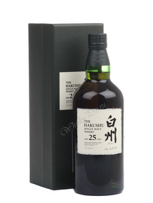 The Hakushu Single Malt Whisky 25 yers Японский виски Хакушу 25 лет в п/у