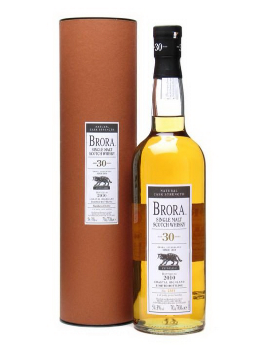 виски Брора 30 лет Шотландский виски Brora 30 years