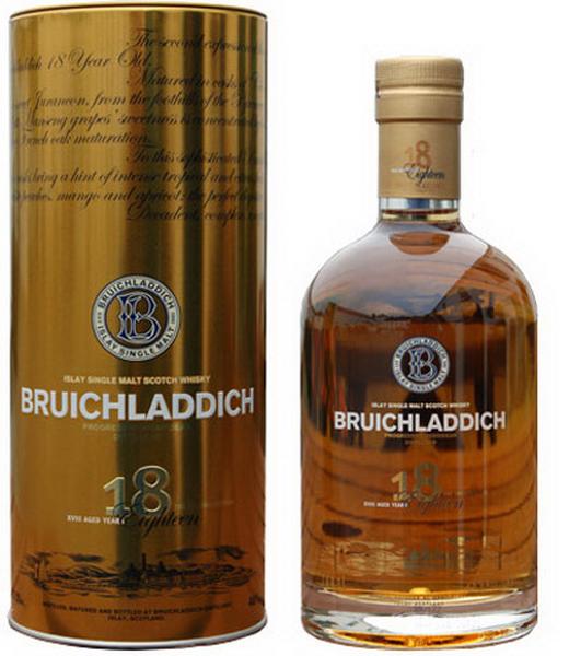 виски Бруклади 18 лет Шотландский виски Bruichladdich 18 years