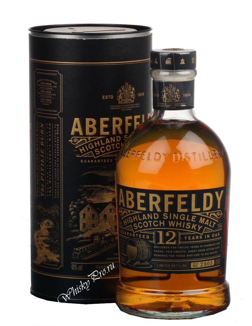 Купить виски Аберфелди 12 лет, whisky Aberfeldy Single Malt
