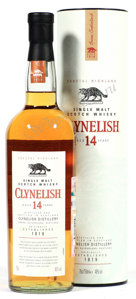 виски Клинелиш 14 лет Шотландский виски Clynelish 14 years