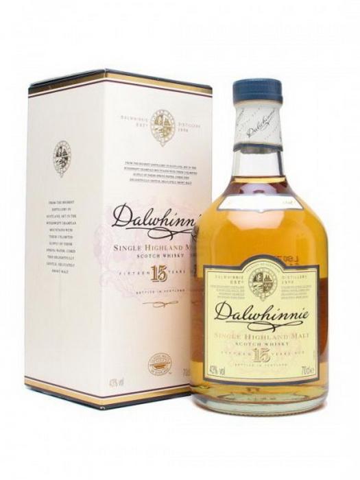 виски Далвини 15 лет Шотландский виски Dalwhinnie 15 years