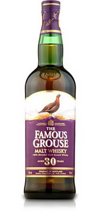 виски Феймос Граус 30 лет Шотландский виски Famous Grouse 30 years