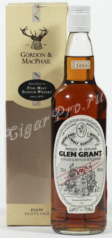 виски Глен Грант 1965 Шотландский виски Glen Grant