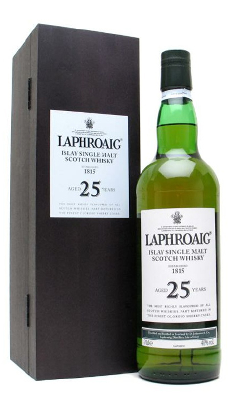 Whisky Laphroaig Cask Strength 2008 Edition 25 years old, купить виски Лафройг Каск Стренс 2008 Эдишн
