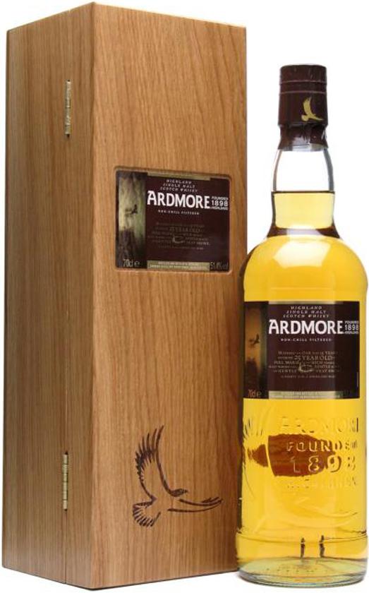 Whisky Ardmore, купить виски Ардмор выдержка 25 лет