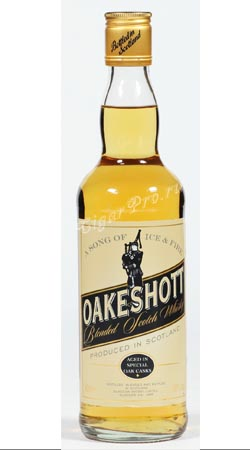 Шотландский виски Окшотт купажированный 0.35 литров виски Oakeshott Blended Whisky 0.35 L