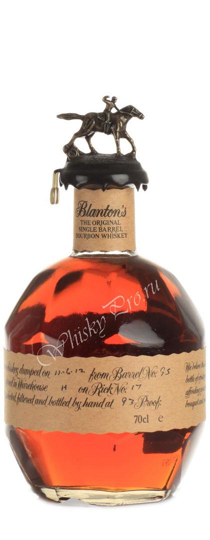 Виски Американский Бурбон Блэнтонс ориджинал Сингл Баррел Whiskey Blantons Original Single Barrel