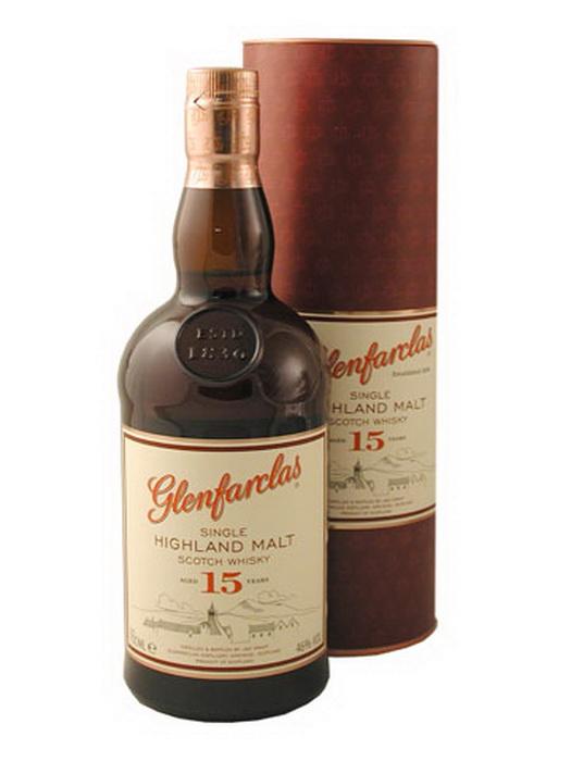 виски Гленфарклас 15 лет Шотландский виски Glenfarclas 15 years old