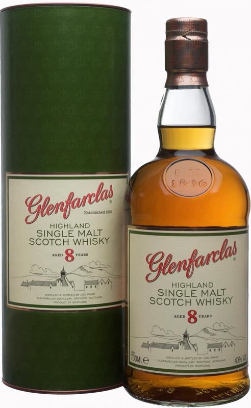 виски Гленфарклас 8 лет Шотландский виски Glenfarclas 8 years