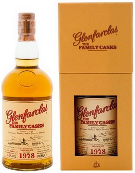Виски Гленфарклас Фэмэли Каскс 1978г Шотландский виски Glenfarclas Family Casks 1978