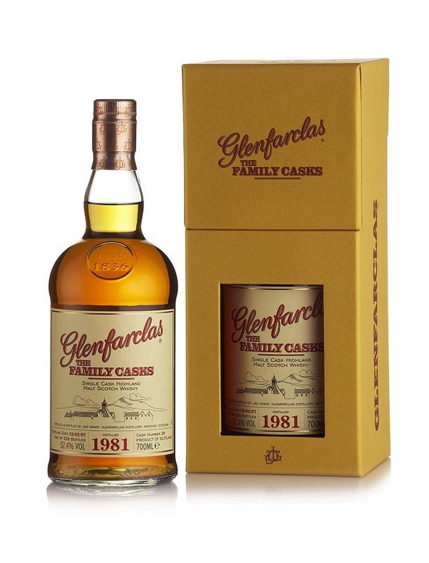 Виски Гленфарклас Фэмэли Каскс 1981 Шотландский виски Glenfarclas Family Casks 1981