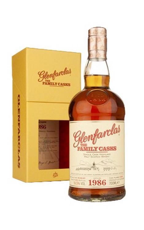 Виски Гленфарклас Фэмэли Каскс 1986г Шотландский виски Glenfarclas Family Casks 1986