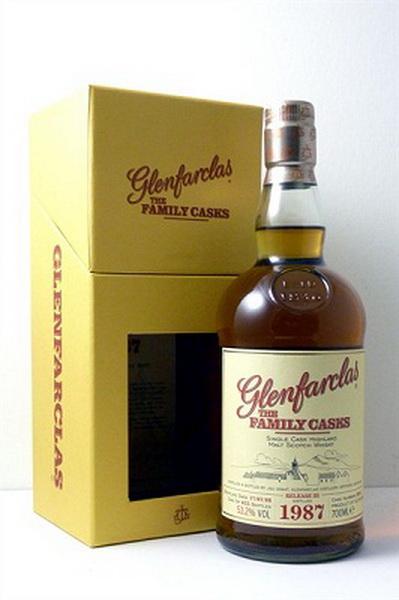 Виски Гленфарклас Фэмэли Каскс 1987г Шотландский виски Glenfarclas Family Casks 1987