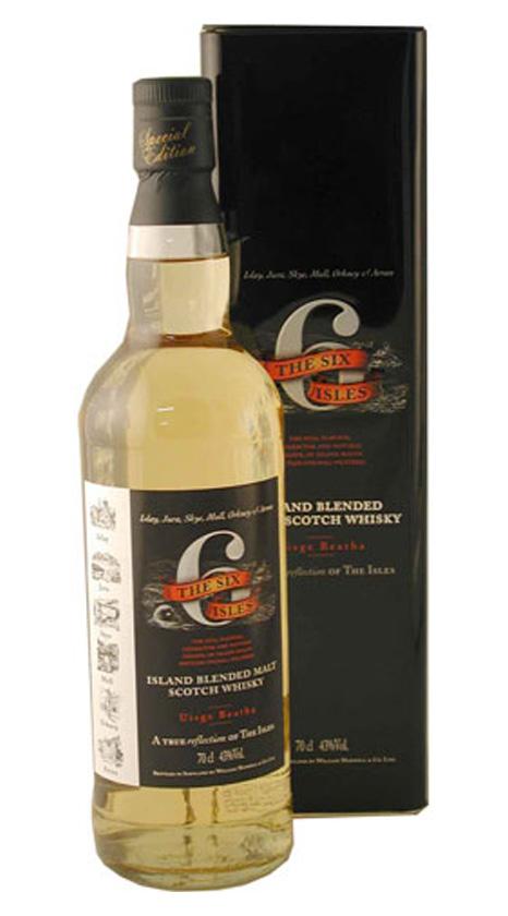 Whisky Six Isles Blended Malt Scotch, купить виски Сикс Айлз 43 градуса