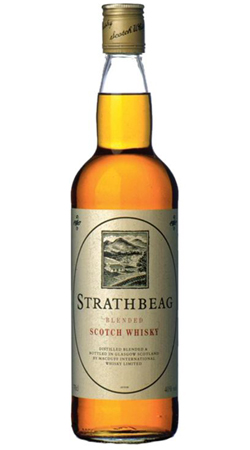 Шотландский виски Стратбиг купажированный виски Strathbeag Blended Whisky