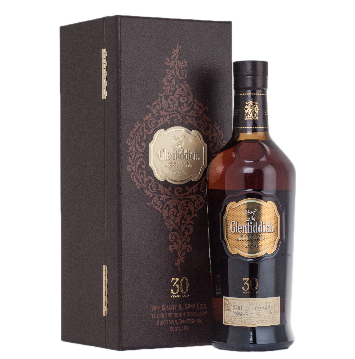 виски Гленфиддик 30 лет Шотландский виски Glenfiddich 30 years old