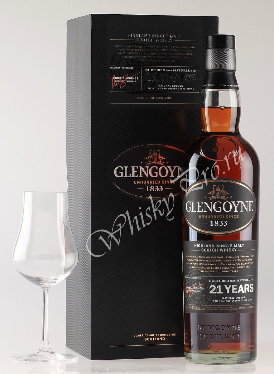 виски Гленгойн 21 год Шотландский виски Glengoyne 21 years old